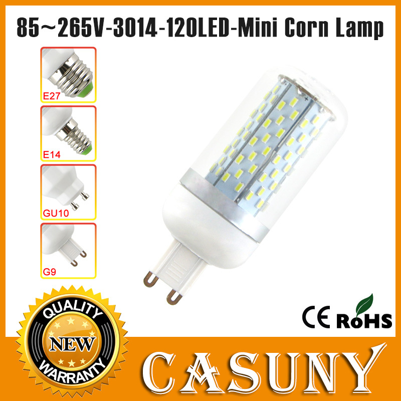 New arrival g9 led 3014 led 12w e27 e14 led bulb candle light lamp gu10 220v pure/warm white For bedroom, living room, kitchen<br><br>Aliexpress