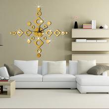 Buy Quartz Clocks Fashion Watches 3D Acrylic Digital Hanging Clock Wall Clock Rushed Mirror Sticker Living Room DIY Home Decor FA for $7.69 in AliExpress store