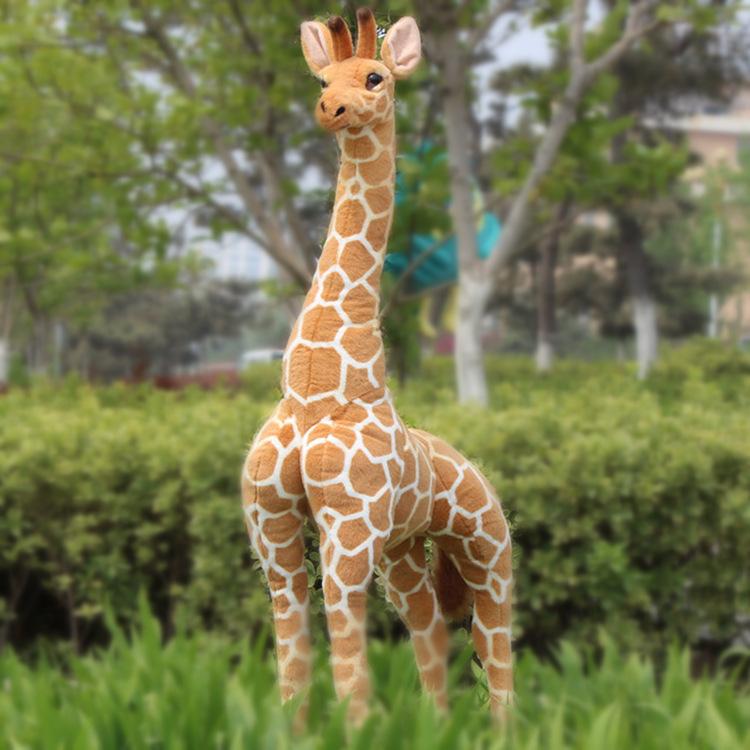 simulation animal large 120cm giraffe plush toy home decoration birthday gift b4887(China (Mainland))