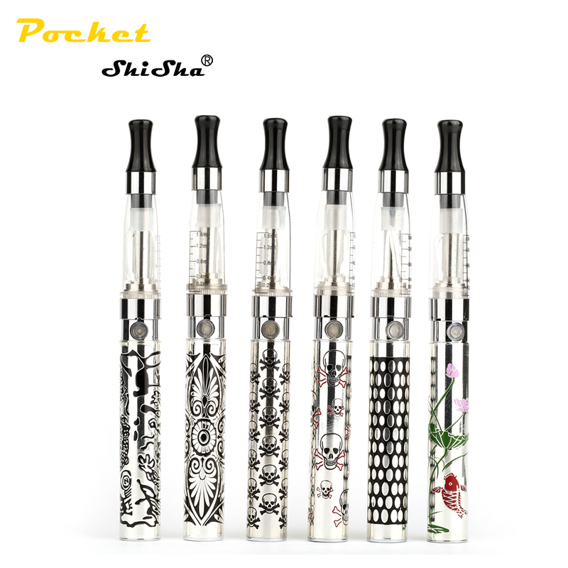 Electronic Cigarette ego New Arrival Multicolor EGO K Cigarette Blister Kits CE4 Atomizer EGO K Battery