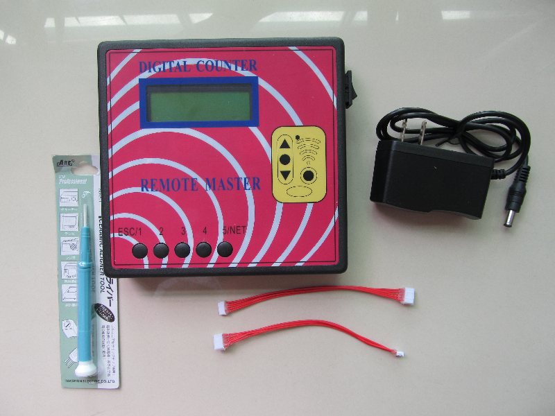 Igital compteur à distance maître 10 Génération Fréquence Mètre Télécommande Copieur pour les Portes De Voiture, Garages Portes(China (Mainland))