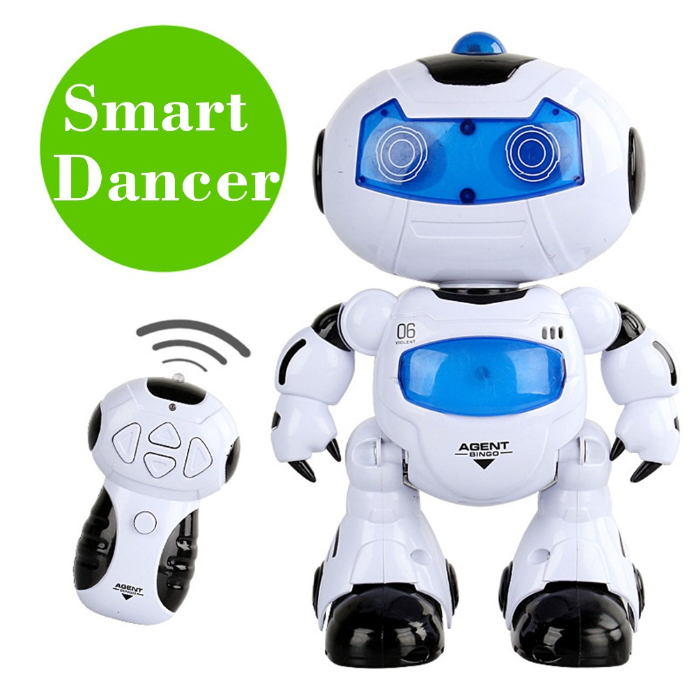 RC Robot Toy Dancer Robot Musical Walk Lighten Electronic Toy Robot Christmas Birthday Gift Toy For Child Kid Boy(China (Mainland))
