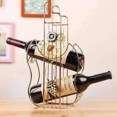 Fashion Wine Rack Home Decoration Modern Living Room Wine Cabinet Wedding Decor Gift Violin Shape Holder Wine Accessories WZ(China (Mainland))