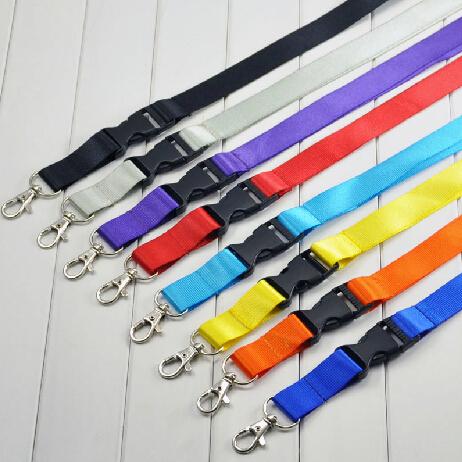 30 pcs 2*53cm suspension rope ID card case holder lanyard metal hook<br><br>Aliexpress
