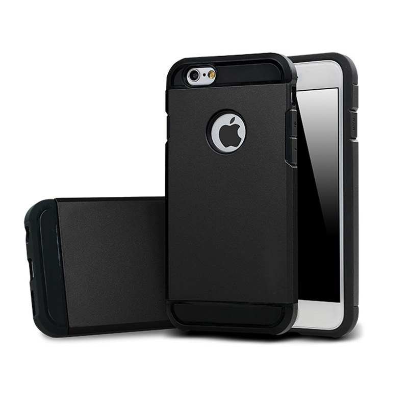 Hot Original Spigen Tough Armor Phone Case for iPhone 6/6S 6/6S Plus TPU+PC 2 in 1 Slim Case For iphone 6 Case Shipping Free(China (Mainland))