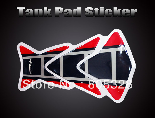 Hot !  Motorcycle Tank Pad Sticker Protector bike Decal ST009