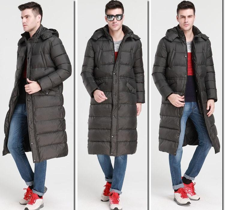 Скидки на В 2015 году в нового человека более зиму пуховик длинный тяжелая волосы воротник камуфляж блестящие перья пальто бесплатная доставка