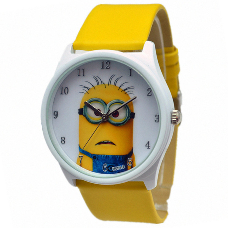 Despicable me dad cartoon children watches villains little yellow guy cartoon children watches watches boys and