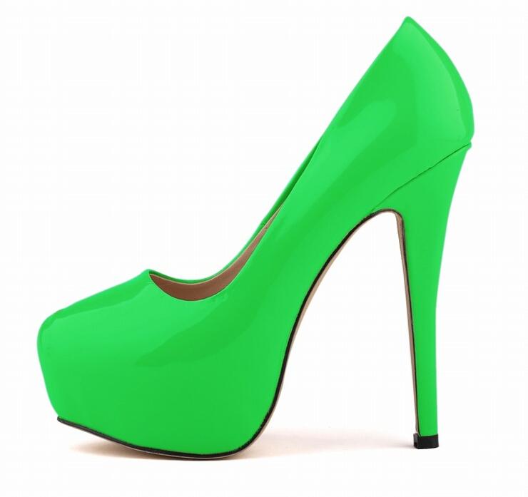 online kaufen gro handel neon green heels aus china neon. Black Bedroom Furniture Sets. Home Design Ideas