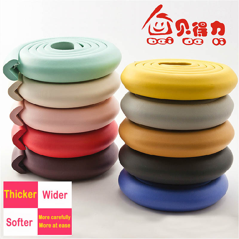 wholesale kids Edge Corner Guards Baby 2 meters crash bar baby crash bar protection of thickening protective equipment 3m tape(China (Mainland))