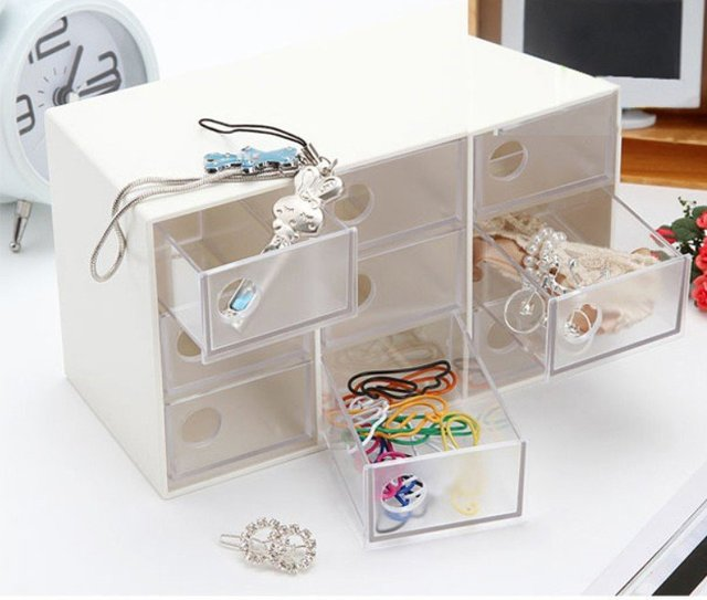 2pcs/lot Storage Drawer Beads Display Storage, Jewelry Case Boxes, Packaging Boxes,Plastic Box 16.4*7.8*10cm Jewelry Accessories