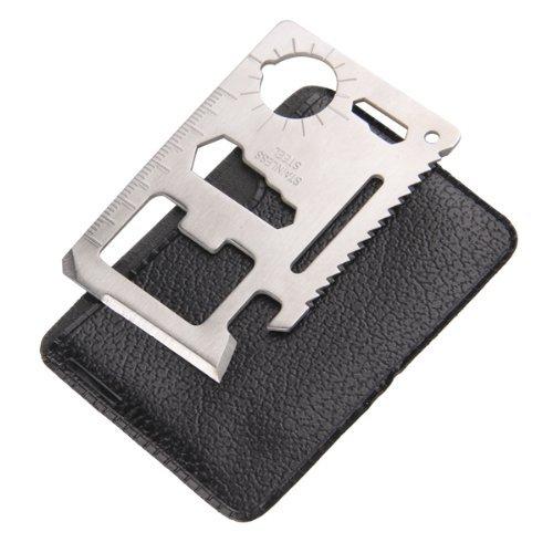RockBros 11 in 1 Multi Function Pocket Knife Tool Opener Cutter Outdoor Survival Emergency Tool Card