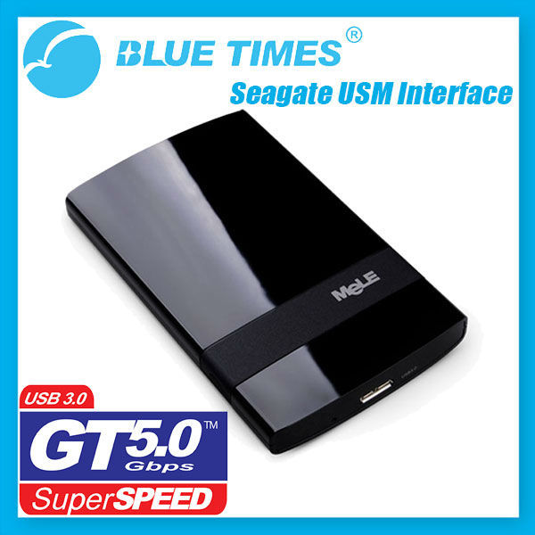 "Mele USB 3.0 2.5"" SATA HDD SSD Hard Drive Disk Enclosure Case with Seagate USM Adapter Free Shipping"