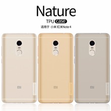 Buy xiaomi redmi note 4 case NILLKIN Nature clear TPU Transparent soft back cover case xiaomi redmi note 4/note 4 pro prime for $6.19 in AliExpress store