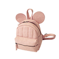 2016 New Fashion Mickey Backpack Trendy Cartoon MINI Bag Solid Color Women Cheap Zipper Small Bag