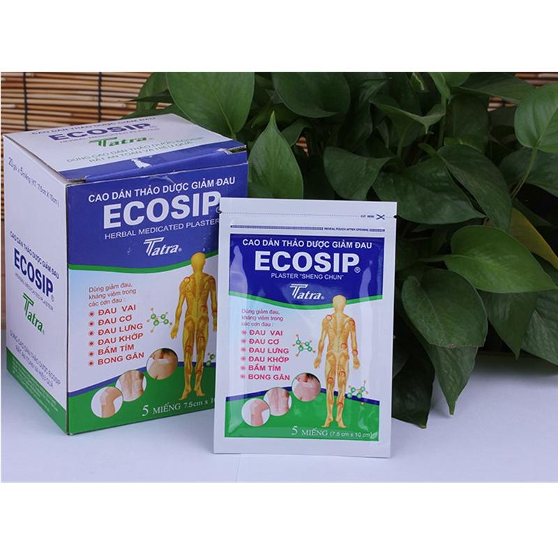 100% Vietnam ECOSIP Treatment Osteoarthritis Bone Hyperplasia Omarthritis Rheumatalgia Spondylosis Paste Pain Relieving Patch<br><br>Aliexpress