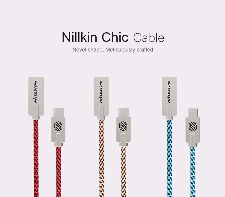 Original NILLKIN USB 2.0 Data Sync Charging USB-C Type-C Cable 1M for LG G5/Nexus 5X/6P/ for huawei p9 lite mi5 for meizu pro 6