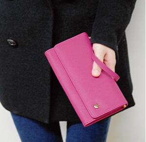 2016 Hot Sale Fashion Women Matte PU Leather Zipper Soft Long Day Clutch Coin Purse Card Holder Wallets Ladies(China (Mainland))