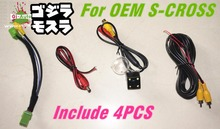 NEW FOR suzuki sx4 s-cross scross OEM no damage style Car Rear view REVERSE view  CCD Camera 1set  Price 1set(China (Mainland))