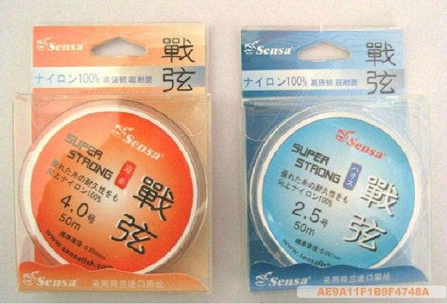 Sensa war chord Pole Line Road Department daughter 50 meters fishing line (optional number) station athletics line fishing line(China (Mainland))