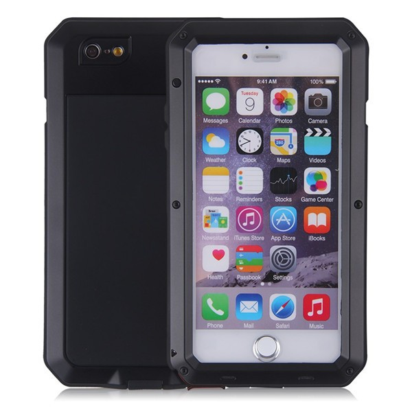 1PC Luxury Dirt Shock Waterproof Shockproof Aluminum Gorilla Metal Protection Cover Case for iPhone 5SE 6 6s/ 6S Plus Armor Skin