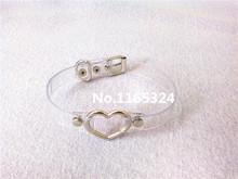 Fashion Jewelry sweet heart Necklace Clear Transparent PU Leather Metal Vinyl Choker Punk Goth 100 Handmade