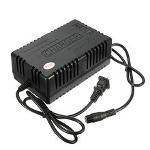 Newest 36 Volt 36V 1.6A 3-Prong Battery Charger for Electric Moped Scooter Bike ATV X-Treme X-560 XT-300 X-360 Minimoto