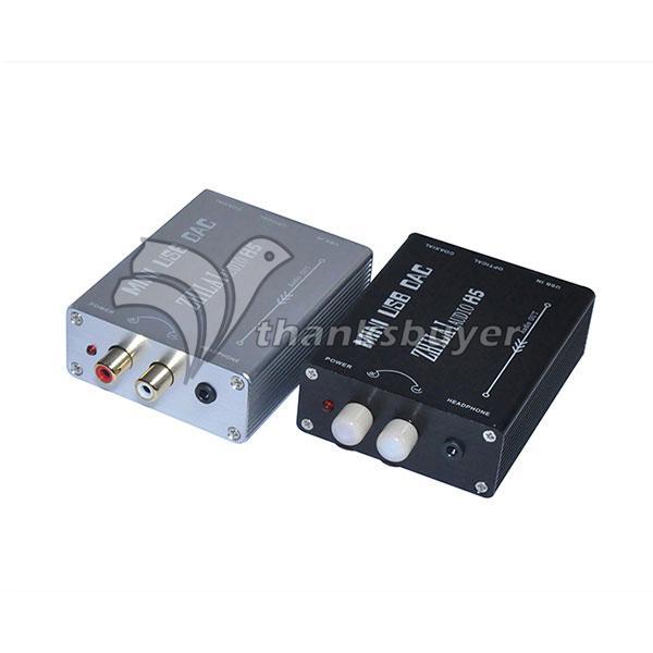 ZHILAI Audio H5 PC Digital USB Sound Card DAC Decoder Optical Fiber Coaxis Analog Signal Output(China (Mainland))