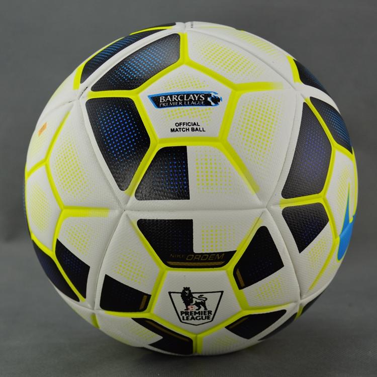 9th / 10th Premier League soccer ball Size 5 seamless PU football ball Champions League Granules slip-resistant soccer ball(China (Mainland))