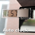 Free shipping Durable Digital LCD Display Car Electronic Clock With Sucker Cool E A3