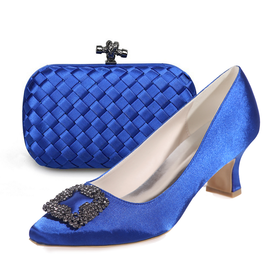 Popular Royal Blue Pointed Low Heel Shoe-Buy Cheap Royal Blue ...