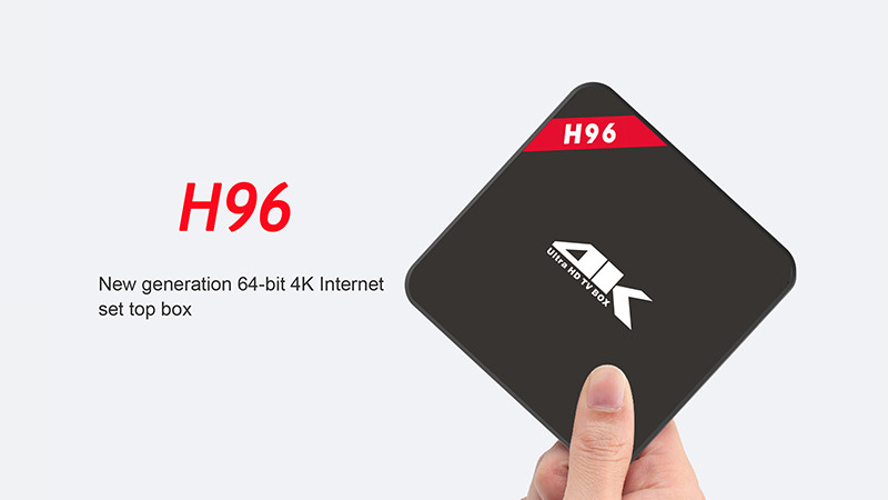 image for French IPTV Box H96 4K Android TV Box With 1200+ NEO IPTV Europe Frenc