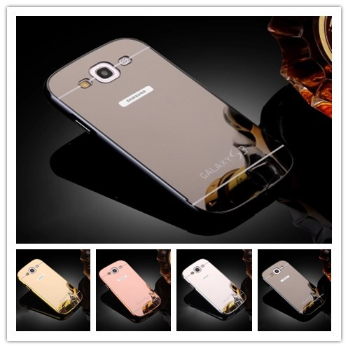 For Samsung S3 Mirror Case Aluminum Metal Mirror Back Cover Case for Samsung Galaxy S 3III S3 i9300 9300 Mirror Case(China (Mainland))