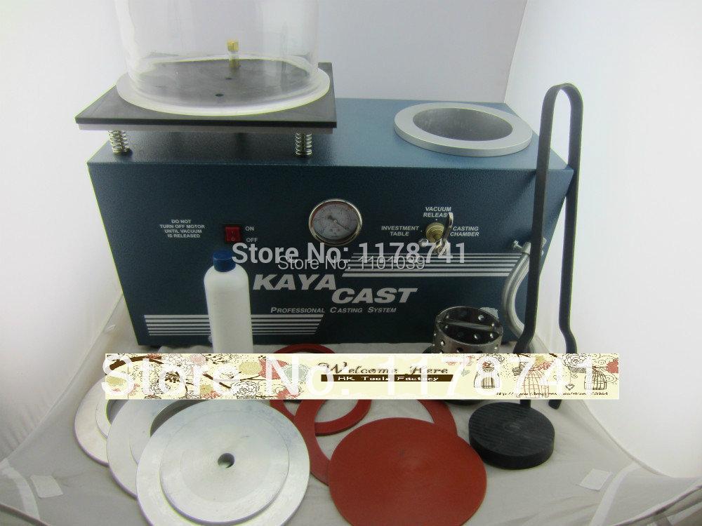FREE SHIPPING Vacuum casting machine, jewelry vacuum casting machine,mini kaya jewelry casting machine,whole set(China (Mainland))