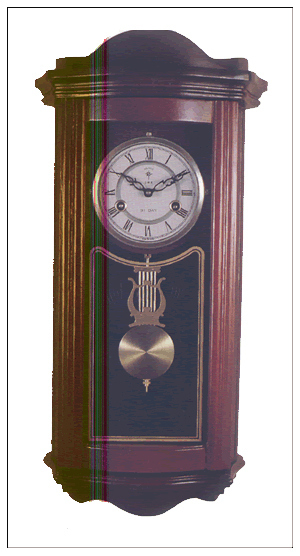 Mechanical core luxurious antique wall clock(China (Mainland))