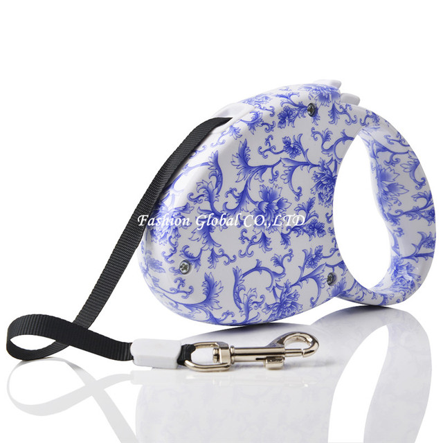 Fashion Pet Product 3M Length Dog Leash Lead ABS Material Dog Pet Retractable Leash for Walking