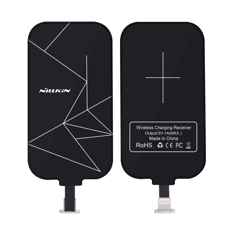 Nillkin Universal Qi Wireless Charger Receiver magic tag Charging Adapter Receptor iphone5s se 6 6s meizu huawei Micro USB phone(China (Mainland))