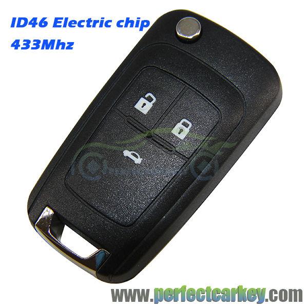 Button Mhz Electric Font B Gm B Font Transponder Chip Folding Key Car Key Control