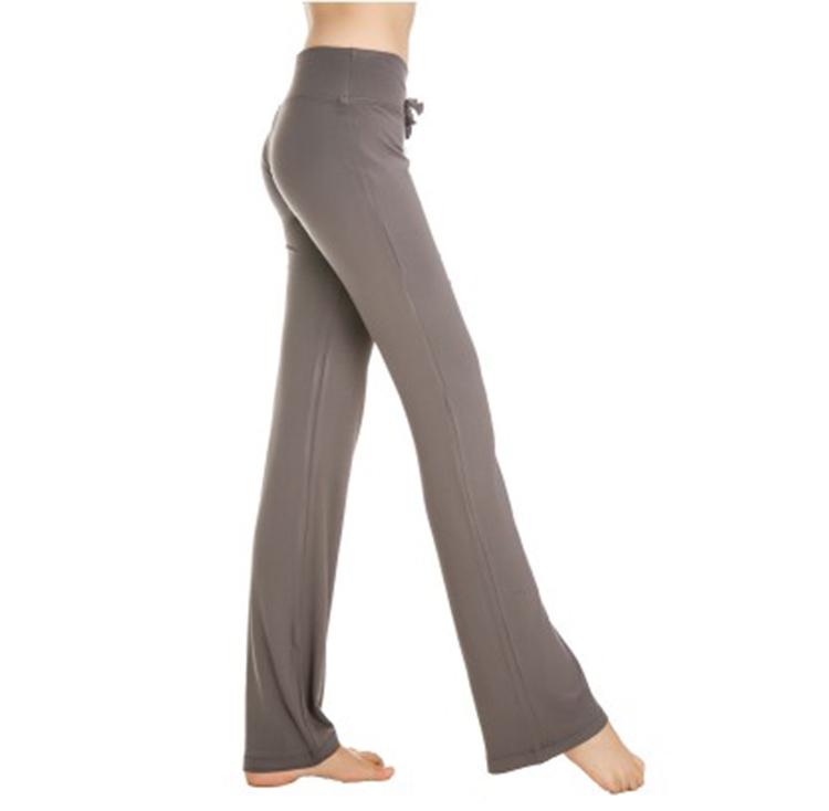 Wholesale High Quality High Elastic Ladies Supplex Yoga Pants
