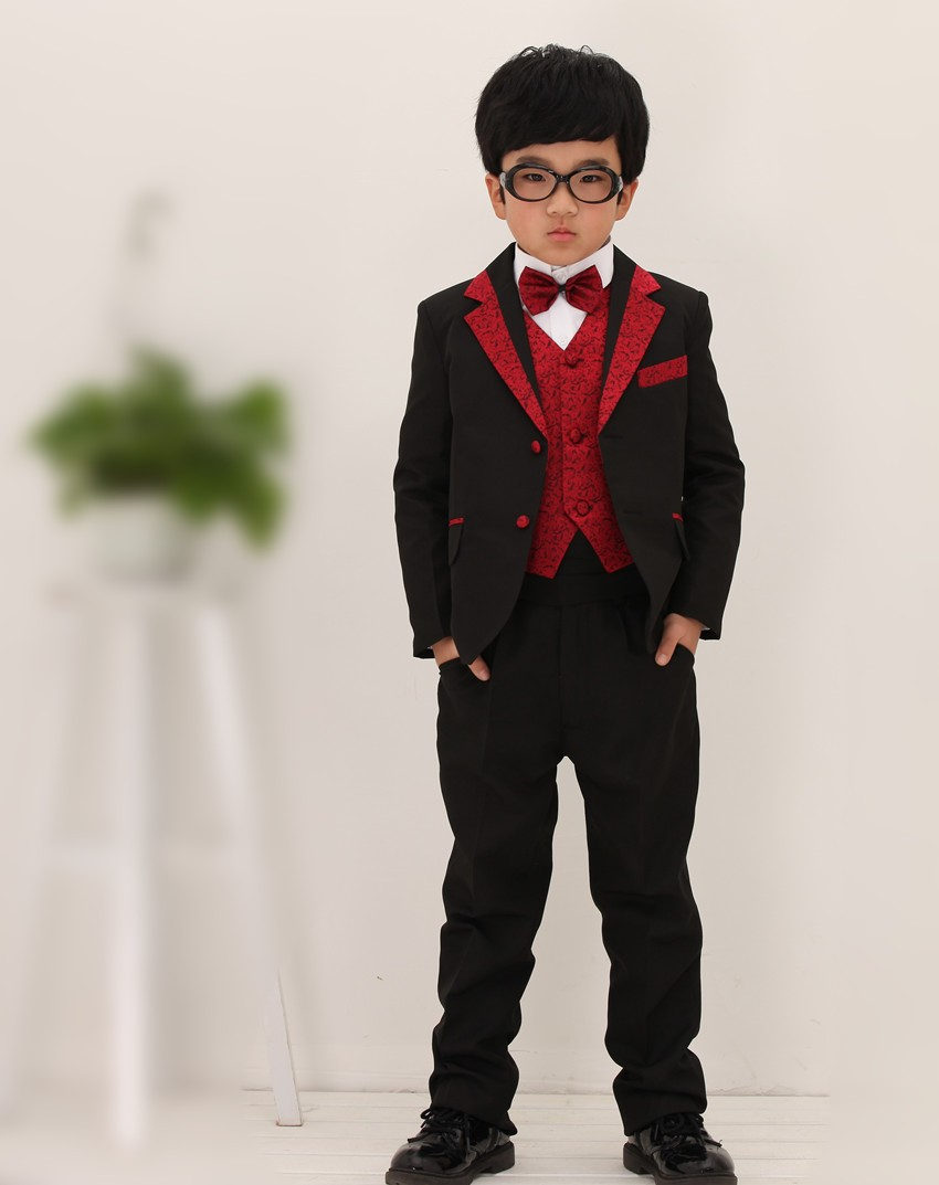 Hot sale child tuxedo suit 2015 wedding dress for kids boy for Dress and jacket outfits for weddings