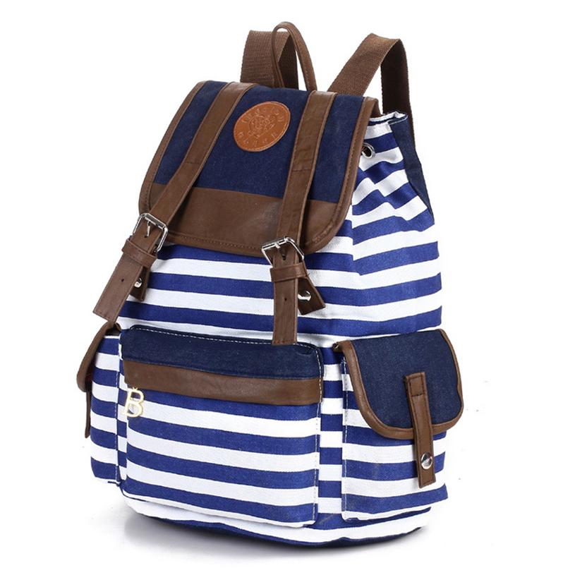Canvas Women Backpack Women Travel bag School Bags Motorcycle Backpack Women Shoulder Bags Vintage Backpack mochila 2015 BB12(China (Mainland))