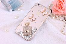 TOP Luxury Bling Diamonds Crystal Hard Clear Case Cover for iPhone 6 Plus 5S 4S(China (Mainland))