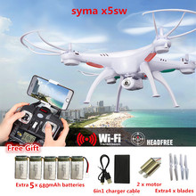 Buy SYMA X5SW FPV Drones camera hd 6-Axis FPV Quadcopter Drone Camera WIFI Real Time Video RC Helicopter Quadrocopter dron for $60.72 in AliExpress store