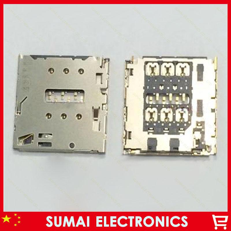 5pcs Original New SIM card reader socket holder slot connector for ASUS K018 Gionee GN9005 S5.1 ELIFE E7 E7T