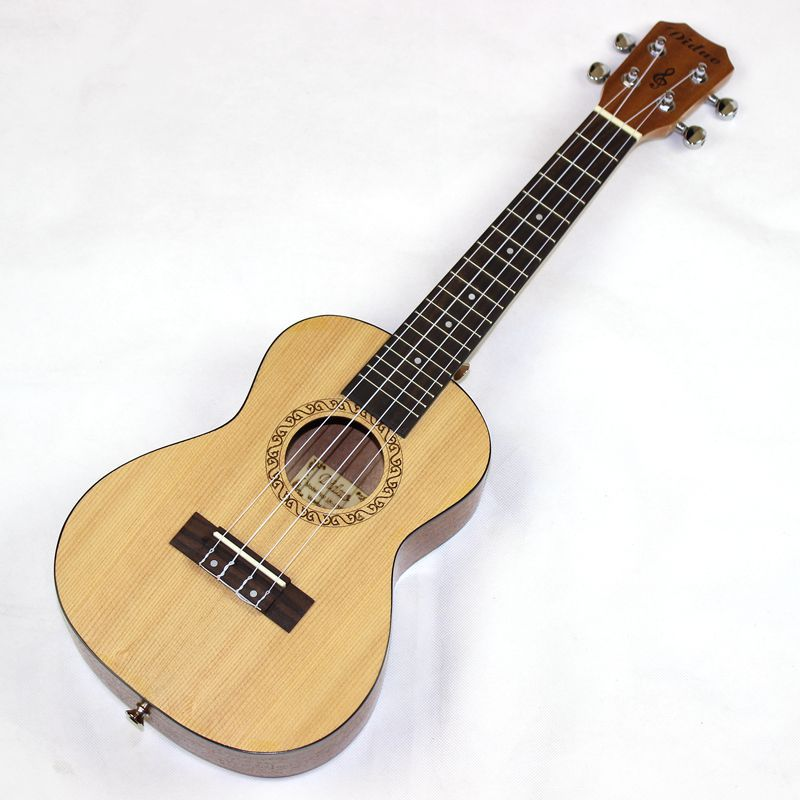 Concert Ukulele 23 Inch Hawaii Guitar 4 Strings Ukelele Guitarra Handcraf Wood Picea Asperata Mahogany White Guitarist Mini Uke<br><br>Aliexpress