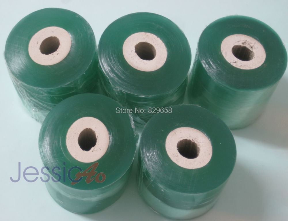 50mm width Clearly PE Shrink Film packing stretch film Wrap Wholesale Film soft Cling packing PE film 15mm thickness(China (Mainland))