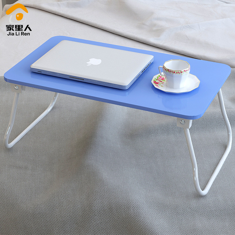 Foldable laptop desk bed dormitory artifact study tables lazy simple reading table(China (Mainland))