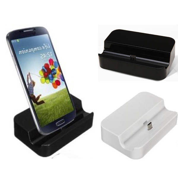 Гаджет  New Micro USB Charger Dock Stand Station For Samsung Galaxy i9500 S2 S3 S4 S5 i9100/i9108/i9300 Note 2 3 Charger Station None Телефоны и Телекоммуникации
