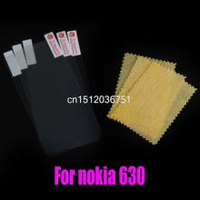 For Nokia Lumia 630 Clear screen protector Clear Screen Protective Film Screen Guard Wholesale