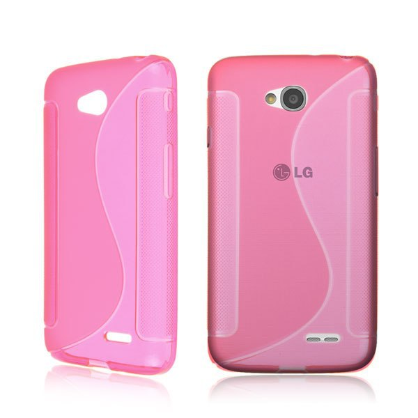 Cellphone Case For LG Optimus L70 D325 S-Line Soft Silicone Gel Rubber TPU Case Cover Skin Free Shipping(China (Mainland))